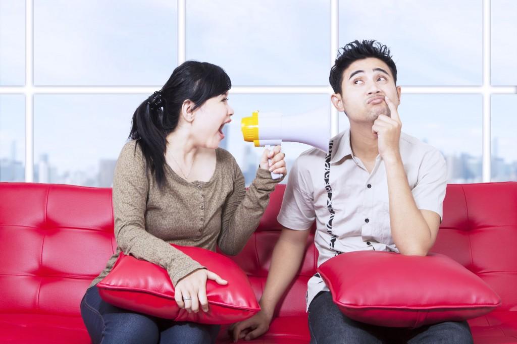 La comunicación de pareja y sus errores