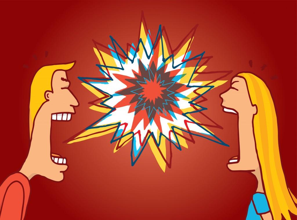 peleas más comunes entre parejas