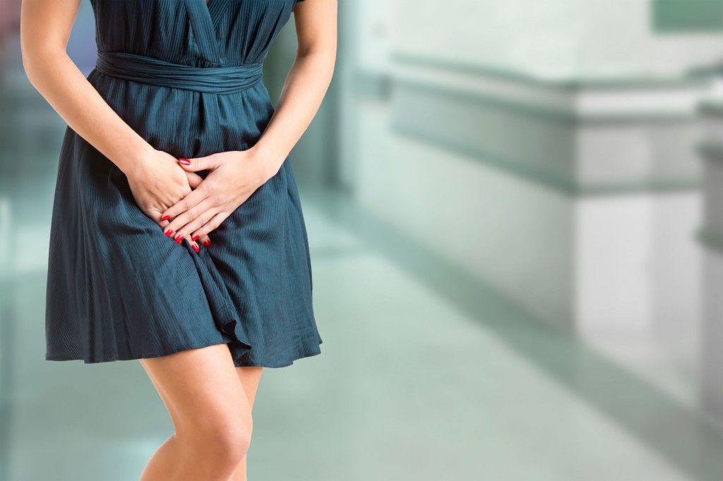 Woman With a Bladder Infection